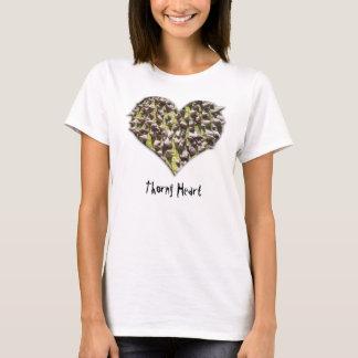 Taggig hjärta tee shirt