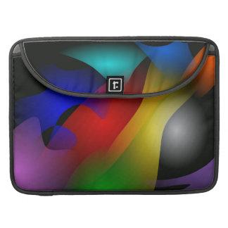Tågspringet till och med mörkret sleeves för MacBook pro