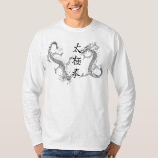 Tai-Chi Chuan och T-tröja för två drakar T-shirt