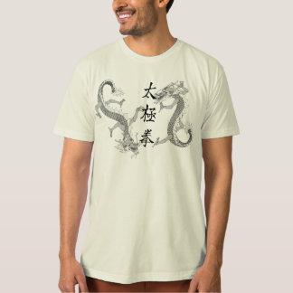 Tai-Chi Chuan och T-tröja för två drakar Tröjor