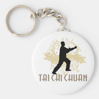 Tai-Chi Chuan Rund Nyckelring