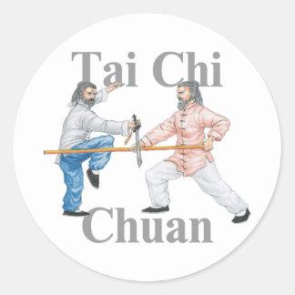 Tai-Chi Chuan Runt Klistermärke