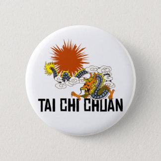 Tai-Chi Chuan Standard Knapp Rund 5.7 Cm