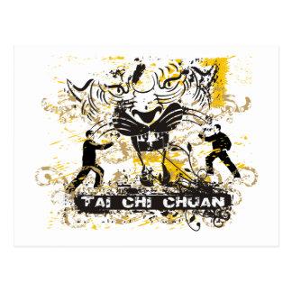Tai-Chi Chuan Vykort