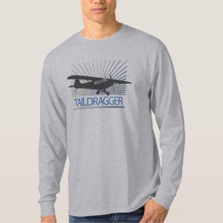 Taildragger flygplan t-shirts