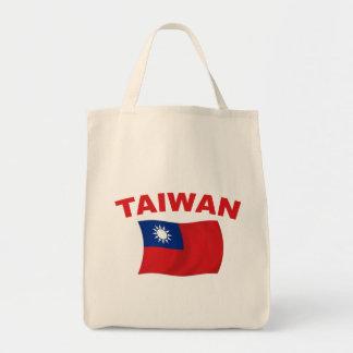 Taiwan flagga 3 mat tygkasse