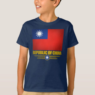 Taiwan (Republic of China) flaggaskjortor Tee Shirts