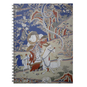 Taiwan vintagekonst anteckningsbok