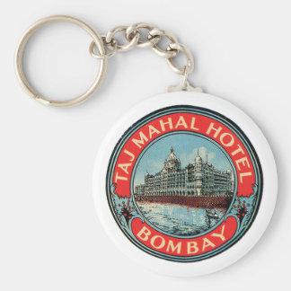 Taj Mahal hotell Rund Nyckelring