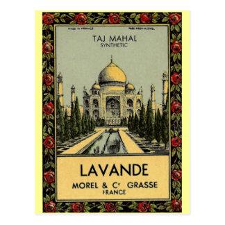 Taj Mahal Lavande vykort