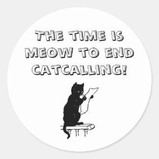 Tajma för att avsluta Catcalling klistermärken