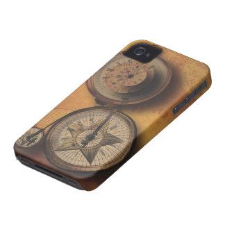 Tajma för att gå Steampunk tar tid på på iPhone 4 Case-Mate Cases