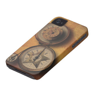 Tajma för att gå Steampunk tar tid på på iPhone 4 Hud