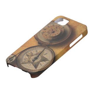 Tajma för att gå Steampunk tar tid på på iPhone 5 Skal