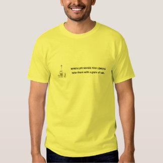 take-dem-med-en-korn-av-salt tee shirt
