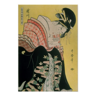 Takigawa från Tea-Huset, Ogi Poster