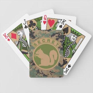 Taktisk hemlig ekorre spelkort