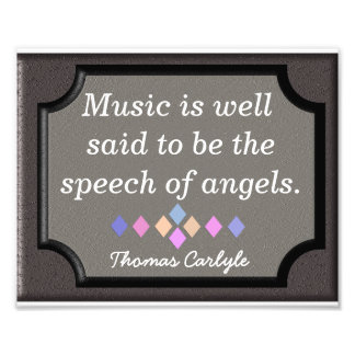 Tal av änglar - Thomas Carlyle - tryck Fototryck