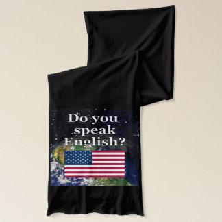 Talar du engelska? på engelskt. Flagga & jord Sjal