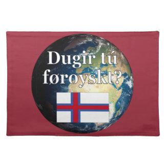 Talar du Faroese? i Faroese. Flagga & jord Underlägg