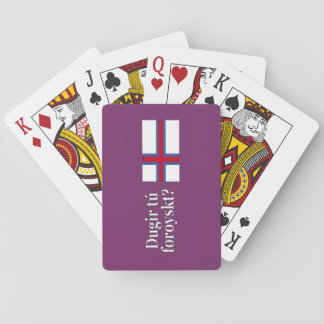 Talar du Faroese? i Faroese. Flaggawf Casinokort