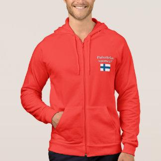 Talar du finska? i finska. Flagga Sweatshirt