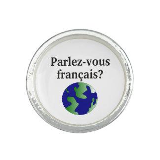 Talar du fransk? i franskt. Med jordklotet Fotoringar