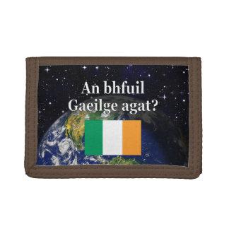 Talar du irländare? i irländare. Flagga & jord