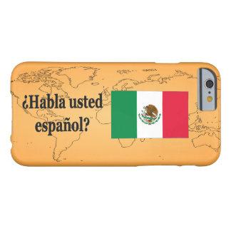 Talar du spanjor? i spanjor. Flaggabf Barely There iPhone 6 Fodral