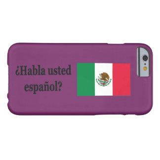 Talar du spanjor? i spanjor. Flaggabf Barely There iPhone 6 Skal