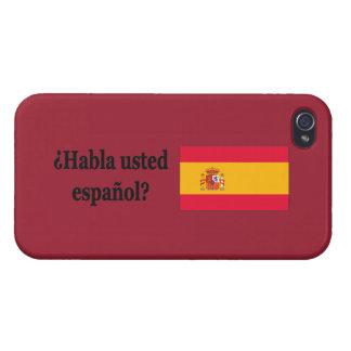 Talar du spanjor? i spanjor. Flaggabf iPhone 4 Skydd