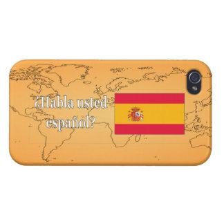 Talar du spanjor? i spanjor. Flaggawf iPhone 4 Fodral