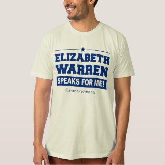 """""""Talar Elizabeth Warren för mig!"""", T-tröja Tröja"""