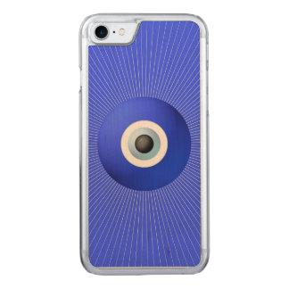 Talisman som ska skyddas mot ont öga carved iPhone 7 skal