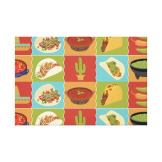 Talkin Tacos Canvastryck