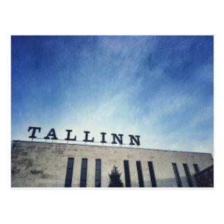 Tallinn tågstation vykort