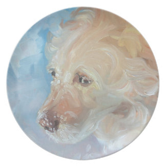Tallrikar för konst för Labrador Retriever
