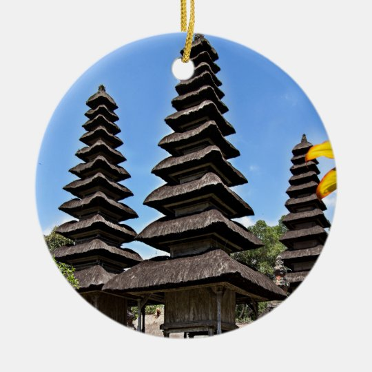 Taman Ayun Temple, Bali Julgransprydnad Keramik