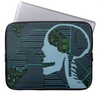 tänd logicskull laptop sleeve