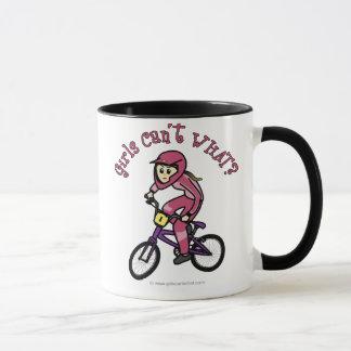 Tända - rosa flickor BMX Mugg