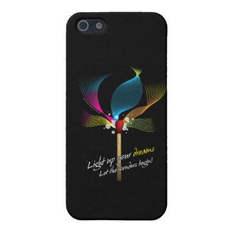 Tända upp dina drömmar iPhone 5 hud