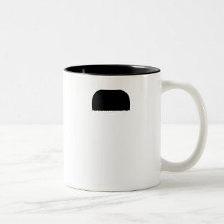 Tandborstemustasch Kaffe Kopp