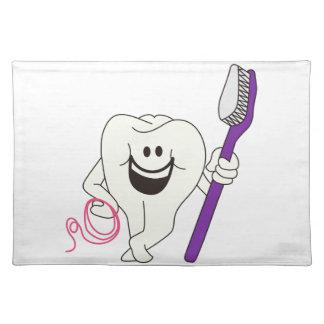 Tanden med borstar bordstablett