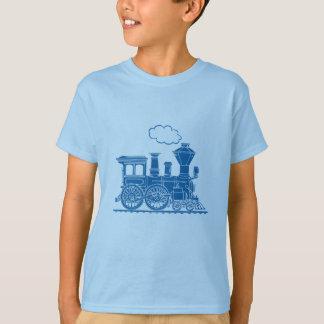 Tänder det rörliga tåg för blåttånga t-skjortan t shirts
