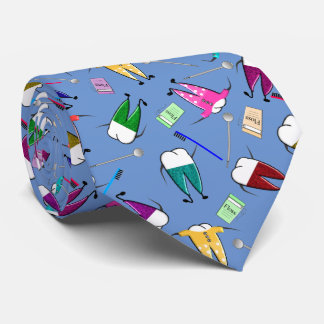 Tandläkaretandfolk konst slips