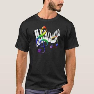 Tangentbord och Trebleklav T-shirts