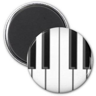 Tangentbord-/pianonycklar: Magnet