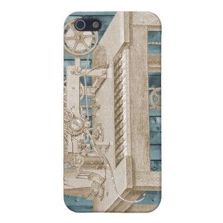 Tangentbord telegraferar på krickaplankor iPhone 5 cases