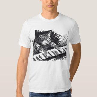 Tangentbordkatten ritar teckningskjortan! tröjor
