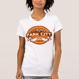 Tangerine för Park City färglogotyp Tröja